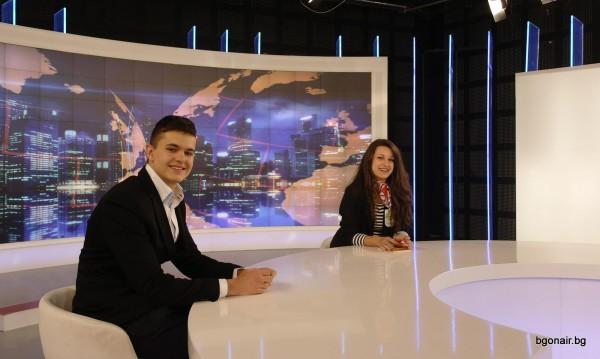 """""""Мениджър за един ден"""" в Bulgaria On Air и Инвестор.БГ"""