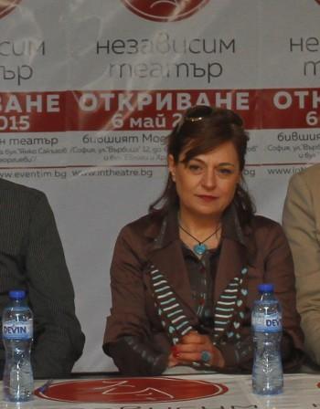 """Асен Блатечки и Мария Сапунджиева в """"Омайна нощ"""""""