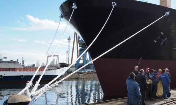 БМФ се сдоби с нов кораб