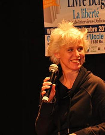 Белгийската писателка и актриса Изабел Уерѝ пристига в София