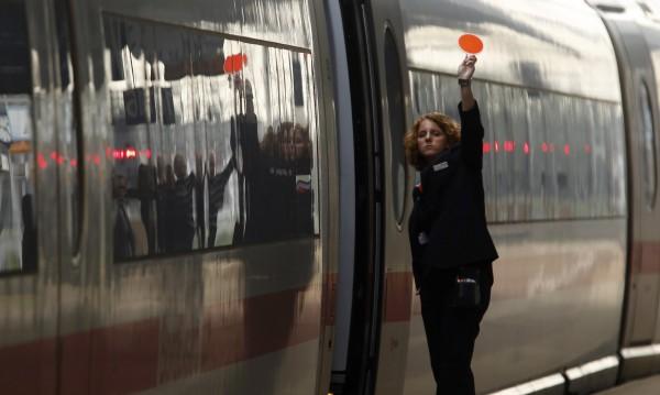 Германският жп транспорт пак е блокиран