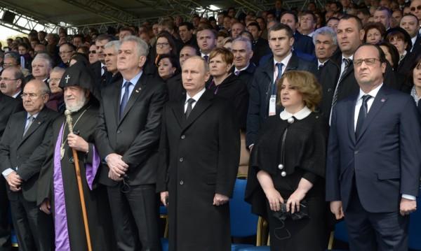 От Ереван: Жертвите няма да бъдат забравени!