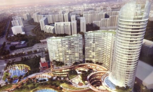"""100-метров небостъргач ще се рее в """"Младост"""""""