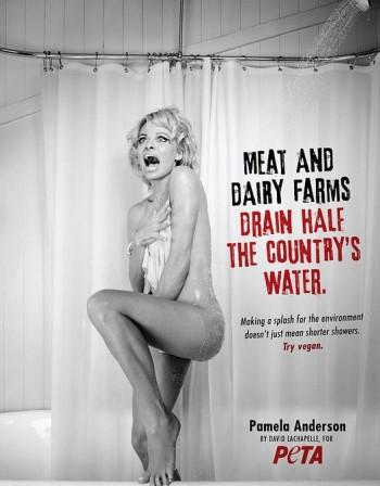 Памела Андерсън пак свали дрехите заради PETA