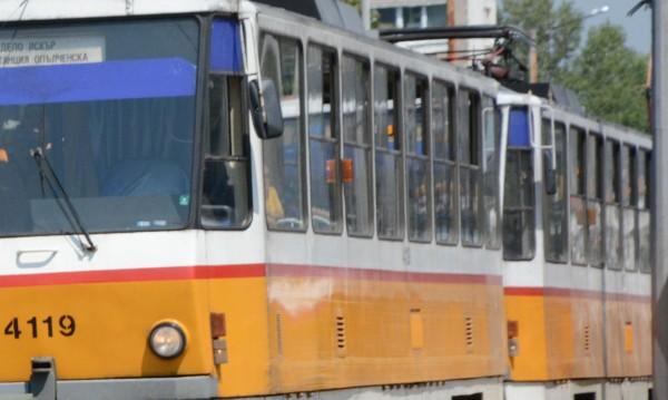 Скъсяват временно маршрута на трамвай №20 заради ремонт