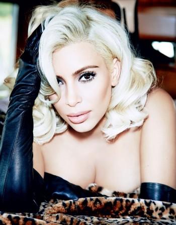 """Ким като Мерилин в бразилския """"Vogue"""""""