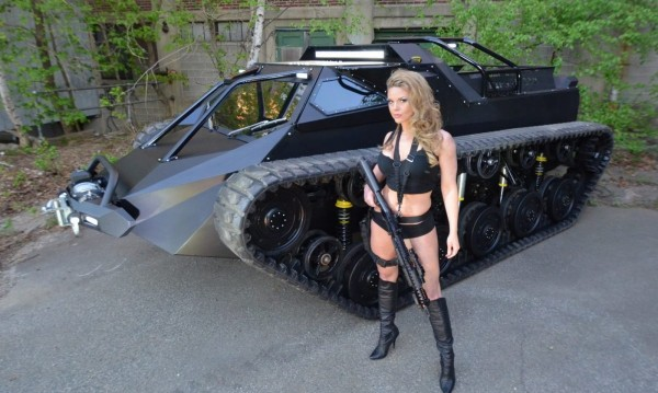 Нова мода – луксозен танк вместо джип