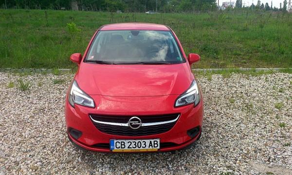 Трицилиндровата сила на Opel Corsa
