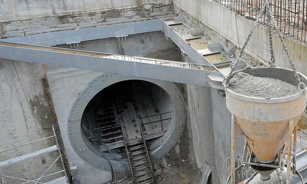 """Пропадна част от """"Черни връх"""" до строящото се метро"""