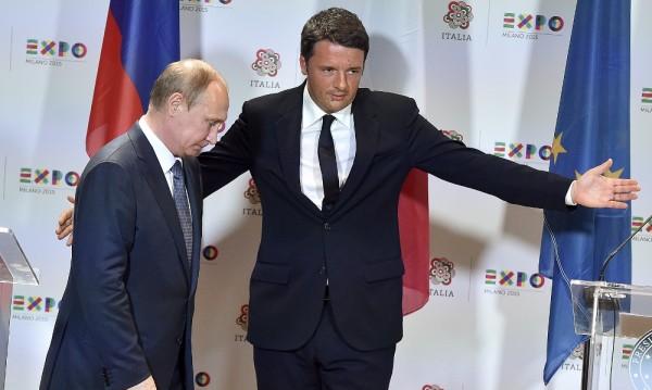 Премиерът на Италия Ренци търси приятелство с Путин