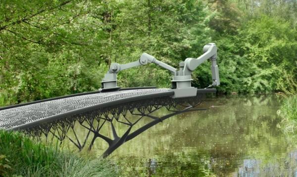 """3D мостове в Амстердам! """"Нарисувани"""" във въздуха"""