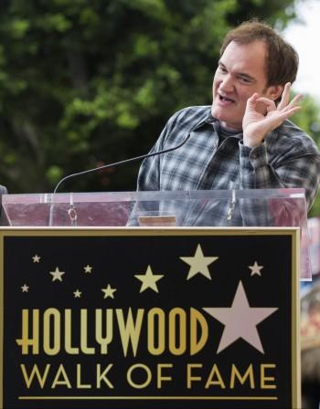 Тарантино със звезда в Холивуд