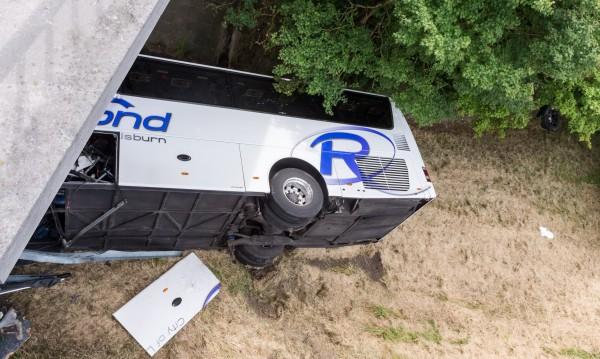 Автобус с британчета катастрофира в Белгия