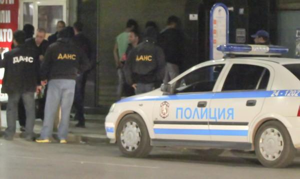 ДАНС и МВР с акция в центъра, арестуваха чужденци