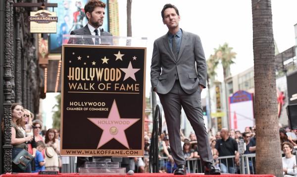 Актьорът Пол Ръд получи звезда в Холивуд