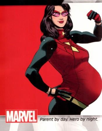 И вече имаме бременна супергероиня - Жената-паяк