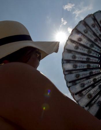 Рекордни жеги в Германия, живакът удари 40 градуса