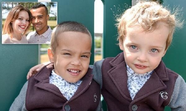 Една майка, един баща, две раси – близнаците Джордж