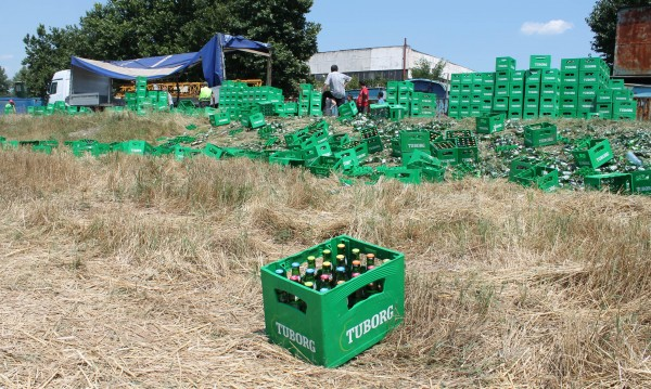 В жегата: Хиляди бири се търкалят на пътя!