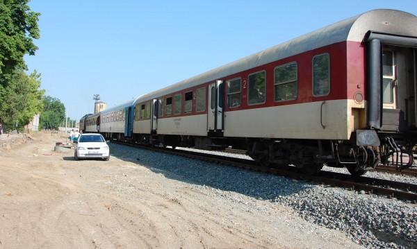 Влак аха да пламне край Димитровград