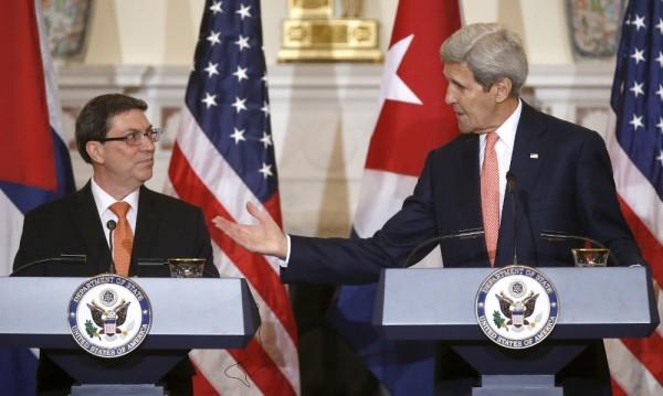 Кубински министър в Държавния департамент за първи път от десетилетия