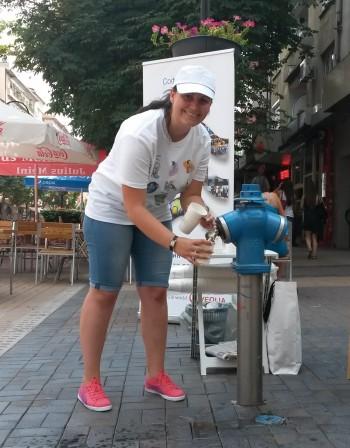 Софийска вода напомня: В жегите е важно редовно да се пие вода