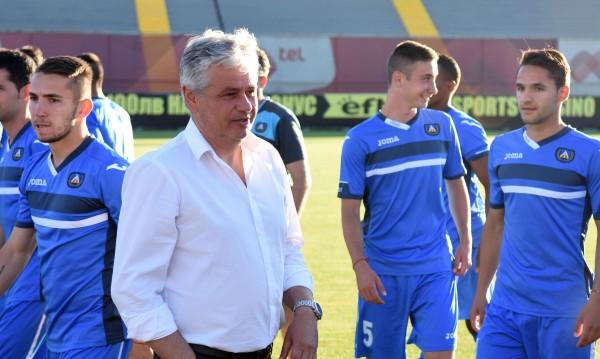 Стойчо Стоев: Няма играчи, има хъс!