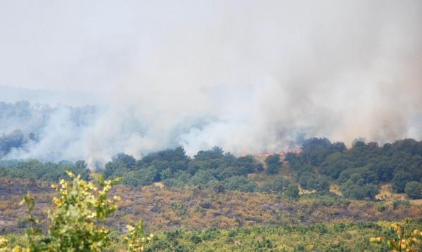 Червен код за опасност от пожари на югоизток