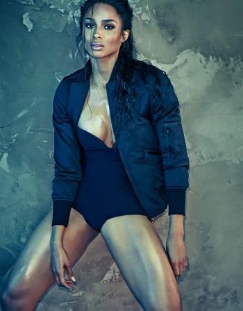 Сиара вдъхновява със супер тяло
