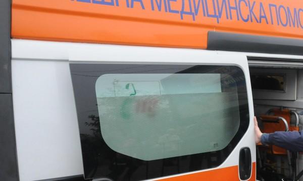 8 ранени при катастрофа край Сапарева баня