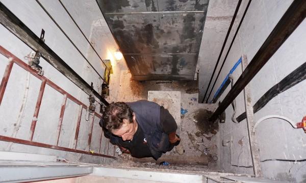 Идея: Затвор за самоволно пускане на спрян асансьор