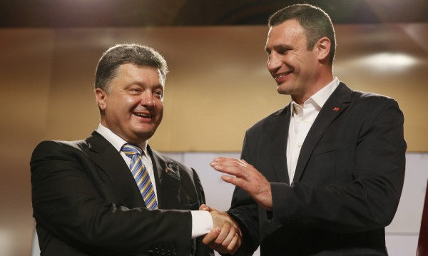 Партиите на Порошенко и Кличко се обединиха