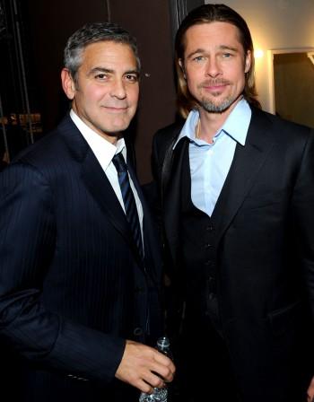 Джордж Клуни и Брад Пит стават съседи в Англия