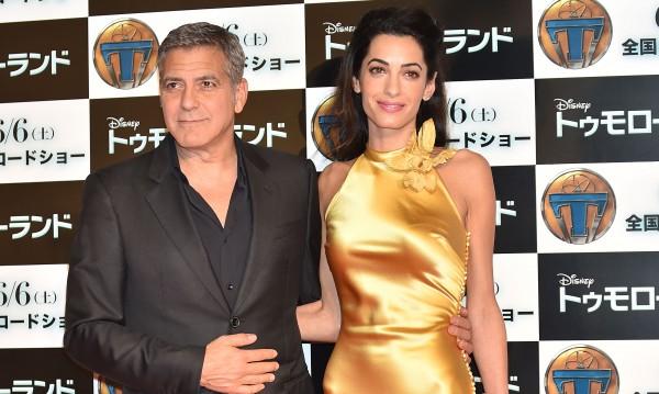 Джордж Клуни: Чувствам се като идиот, когато говоря с Амал!