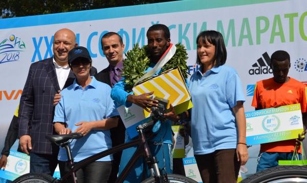 Етиопец най-бърз в Маратона на София
