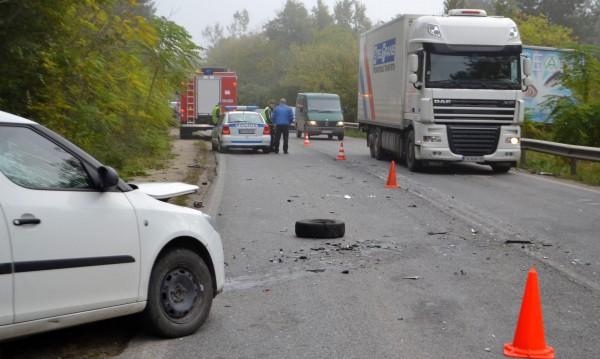Челен удар затвори пътя София - Варна