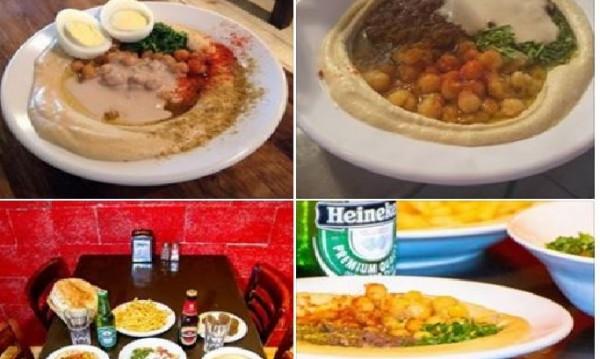С хумус срещу насилието и омразата в Израел