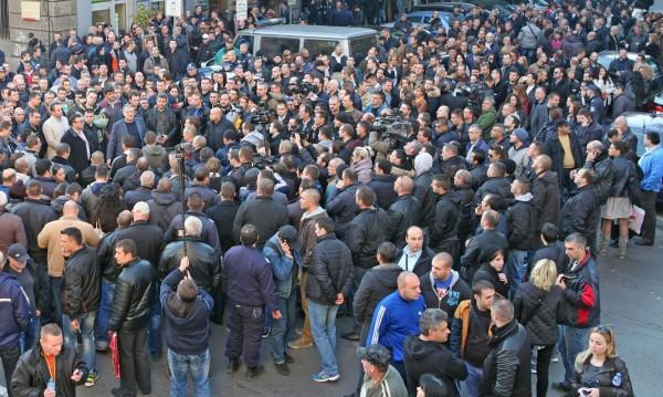 Полицаите били принудени, врича се синдикалист