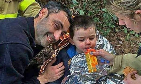 3-годишно дете посрещна Нова година само в гората