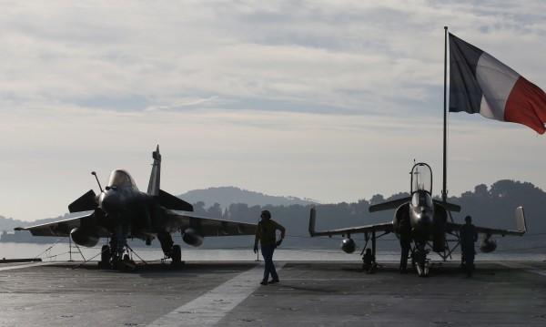 Френските ВВС унищожиха работилница за ракети на ИД