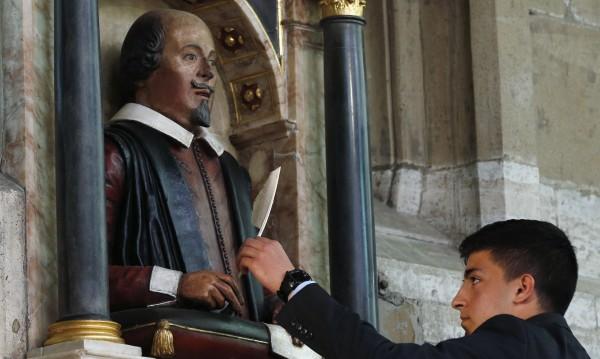 Отбелязват 400-години от смъртта на Шекспир