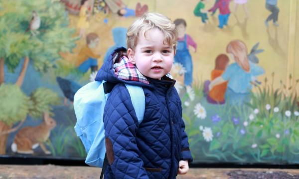 Принц Джордж тръгна на ясли