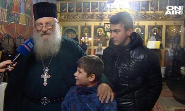 Отец Иван на Ивановден: Мир и любов на всички!