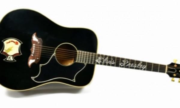 Броиха $270 хил. за китара на Елвис