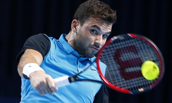 Гришо игра с Федерер като с равен, но не стигна