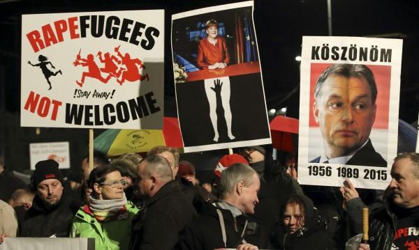 Хиляди протестираха в Лайпциг срещу бежанците