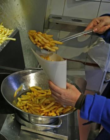Пържените картофки могат да бъдат токсични