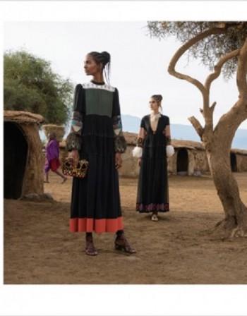 Висшата мода среща масаите