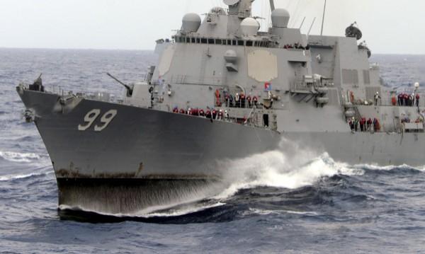 Иран задържа 10 американски моряци, разпитва ги