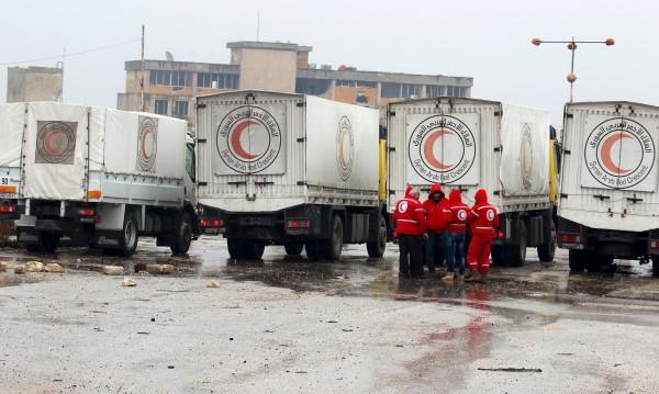 Втори хуманитарен конвой се отправи към Мадая